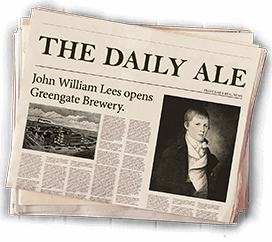 The Daily Ale - JW Lees Opens